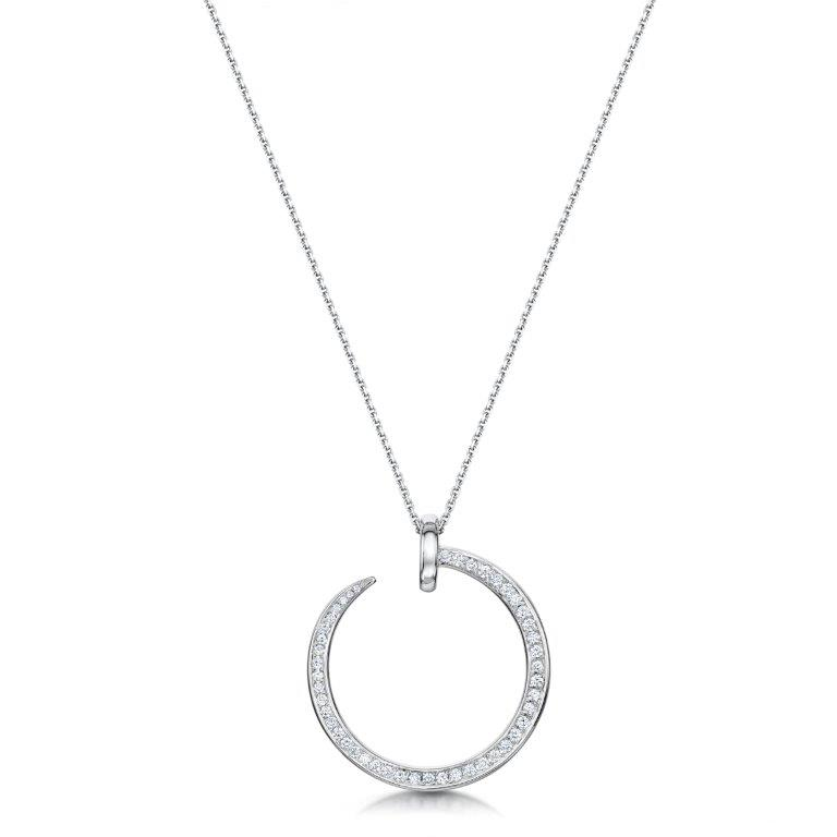 diamond set jewellery nail pendant (2)