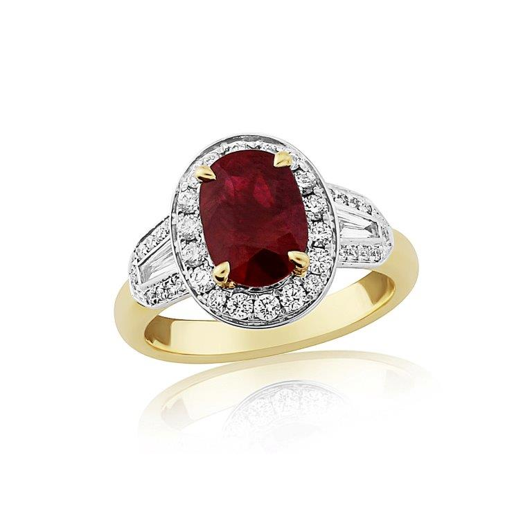 ruby and diamond cluster diamond ring 25 (2)